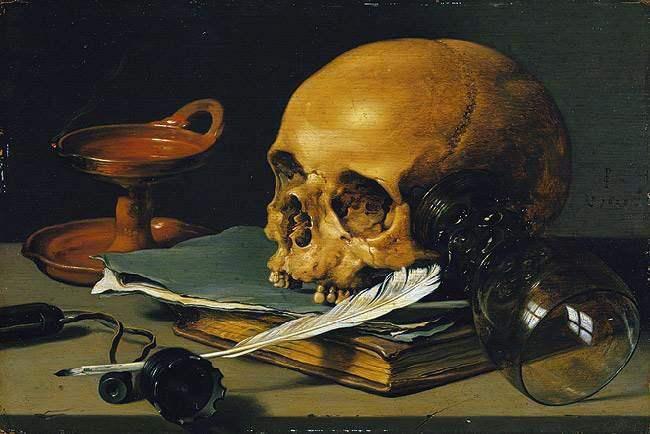Histoire de la tête de mort